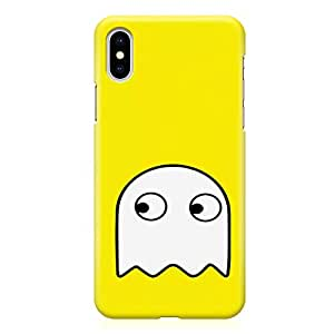 Loud Universe Pacman Ghost iPhone XS Max Case Retro Game Pacman iPhone XS Max Cover with 3d Wrap around Edges