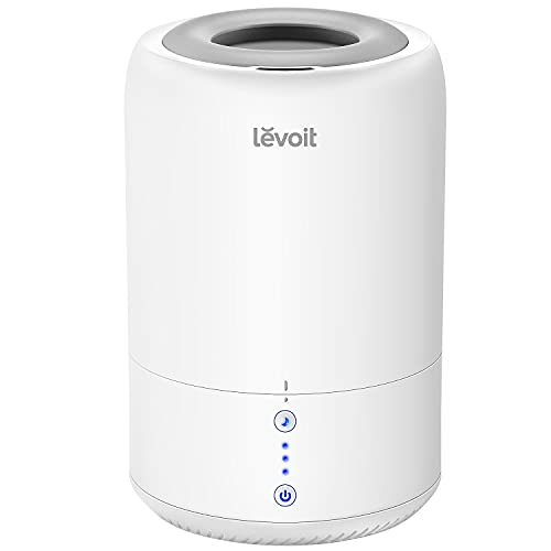 LEVOIT Humidifiers for Bedroom, Cool Mist Humidifier for Babies, Top Fill Ultrasonic Air Humidifier, Essential Oil…