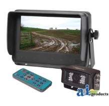 CabCAM Video System; Touch Button (Includes 7'' Monitor and 1 Camera) by Aftermarket Universal Products