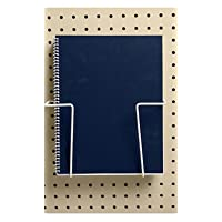 STORE001 6pc, 2-Piece Expandable Literature Display for Pegboard
