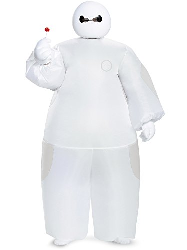 White Baymax Inflatable Costume, Child -
