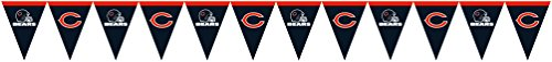 Creative Converting Officially Licensed NFL Plastic Flag Banner,