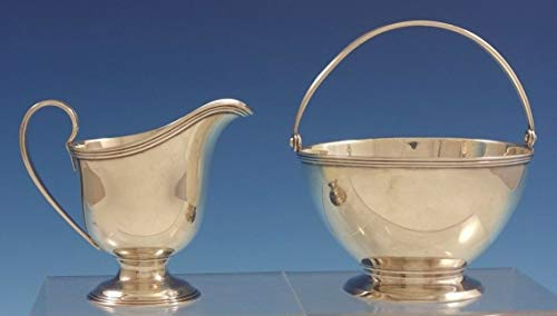 Windham by Tiffany and Co Sterling Silver Sugar and Creamer Set 2pc (#3047)