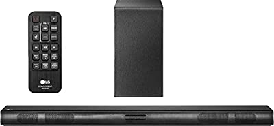 LG SH4 2.1 Channel 300W Sound Bar with Wireless Subwoofer (2016 Model) (Certified Refurbished)