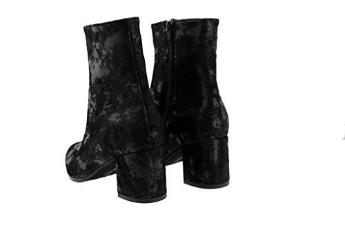 Piesanto Noir Boots Boots saturno Couleur Modã¨le Marque Noir 185387 Bottines Negro rFAwqr