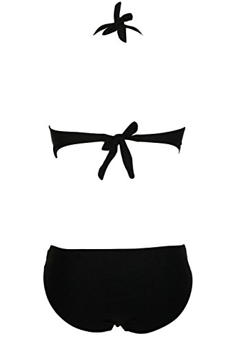 Pinkyee - Traje de una pieza - para mujer negro