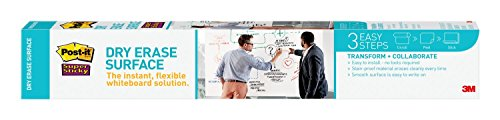Post-it 3 x 2 Feet Dry Erase Surface (DEF3x2)