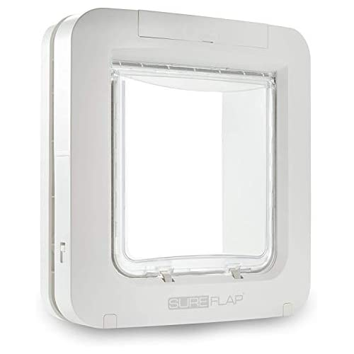 chollos oferta descuentos barato SureFlap Microchip controlado mascota solapa Blanco