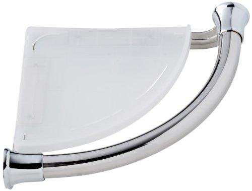 Delta Faucet 41316 Transitional Corner Shelf / Assist Bar, Polished Chrome by DELTA FAUCET
