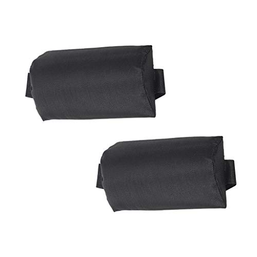 DYNWAVE 2Pcs Black Universal Replacement Headrest Head Cushion Pillow for Zero Gravity Lounge Chair/Recliner (Chair Pillows Lounge)