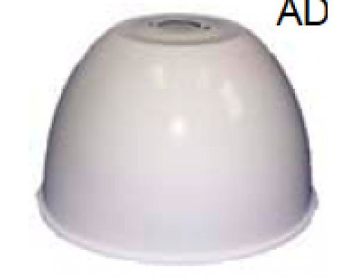 Ark Lighting High/Low Bay Accessories ALU16-LB 16'' Aluminum Dome