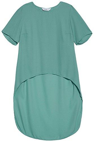 Studio Untold Femme Grandes tailles Blouse longue vert béryl 54 709510 48-52