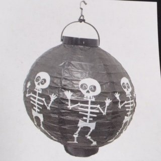 Black and White Skeleton Paper Lighted (Grinch Cast Costumes)