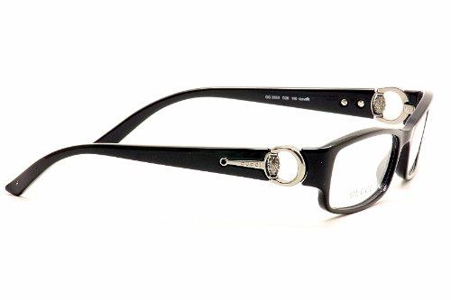 6bc5c37c08 Amazon.com  Gucci Eyeglasses GG 3553 BLACK D28 GG3553 52  Gucci  Clothing