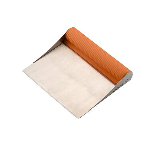 Rachel Ray 51678 Tools & Gadgets Bench Scrape, Orange