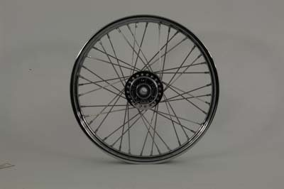 V-Twin 52-2028 - 21'' Replica Front Spoke Wheel by V-Twin (Image #1)