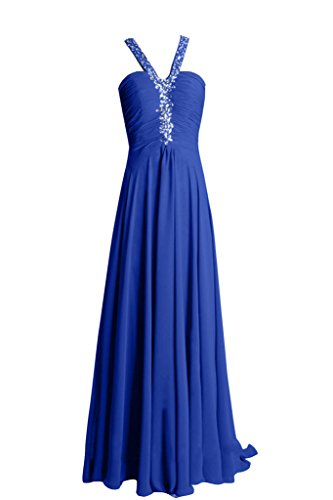 Sunvary - Vestido - para mujer azul real