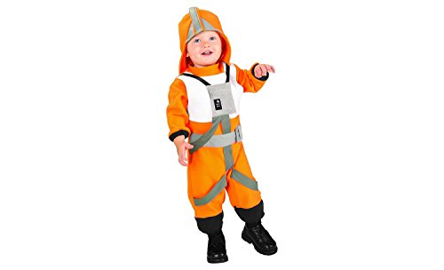 Onceuponasale 3T-4T Star Wars X-Wing Fighter Pilot Toddler Costume Dress Up Play Halloween