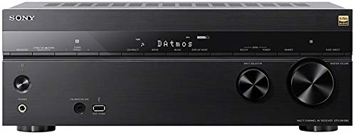 Sony STR-DN1080 Surround Sound Receiver: 7.2 Channel Dolby Atmos Home Theater AV Receiver with Bluetooth and Wifi (Receiver Sony Hd)