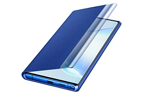 Samsung Galaxy Note10+ Case, S-View Flip Cover - Blue (US Version with Warranty)