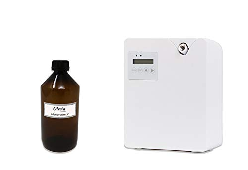 Weele professionele elektrische vernevelaar luchtverfrisser met Megaride parfum van 40 tot 100 mq. Ultrasone en…