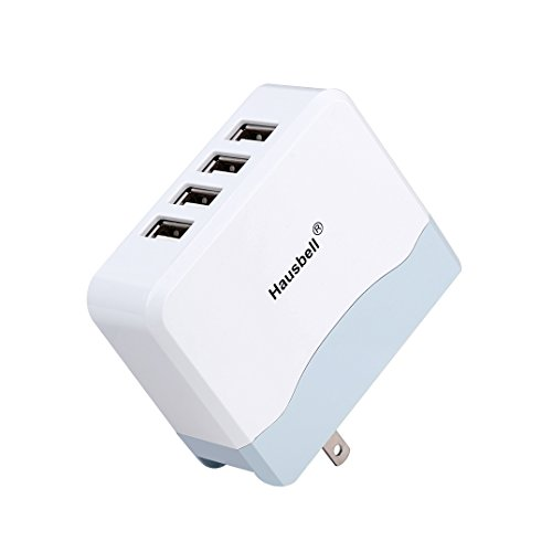Hausbell Port Charger Foldable White