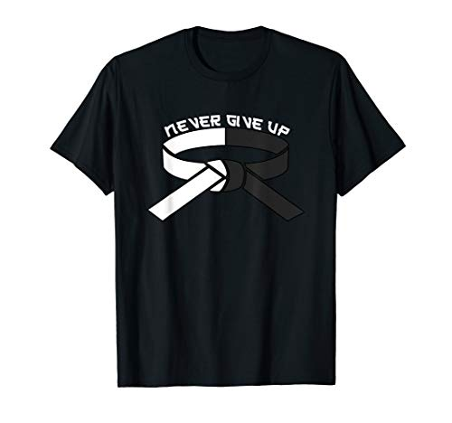 Black Belt T-Shirt - Motivational Martial Arts Karate Tee
