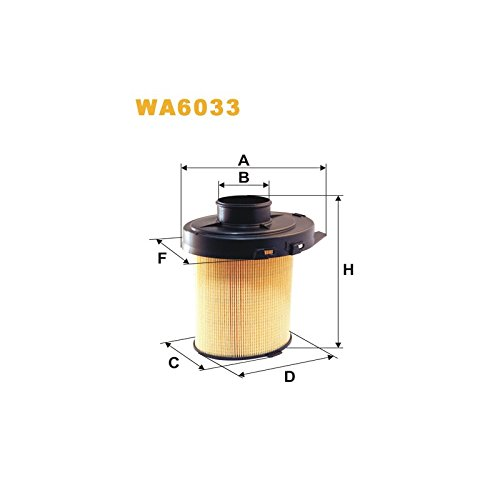 Wix Filter WA6033 Air Filter: