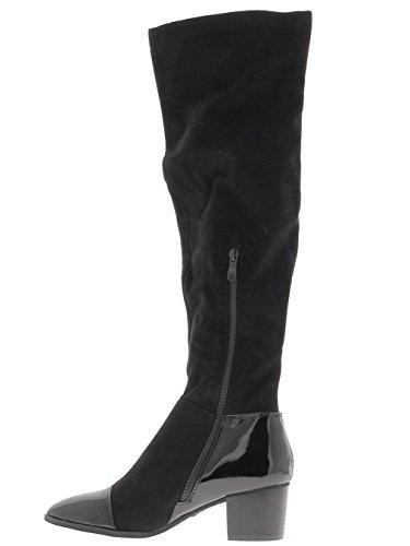 Botas negro de tacón pequeño 6cm.