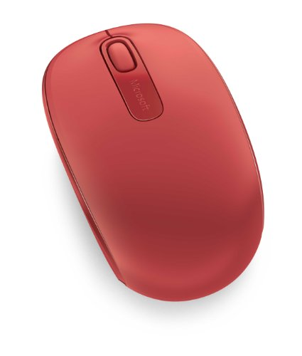 Microsoft Wireless Mobile Mouse 1850 - Flame Red (U7Z-00031)