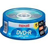 Maxell 638006 Dvd-R 4.7 Gb Spindle
