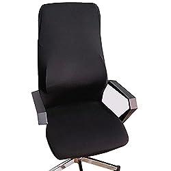 Bezug für Bürostuhl, Computerstuhl, Chefsessel, Lehnstühle. Universeller, abnehmbarer Ersatzbezug für Drehstühle…