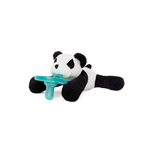 WubbaNub Infant Pacifier - Panda]()