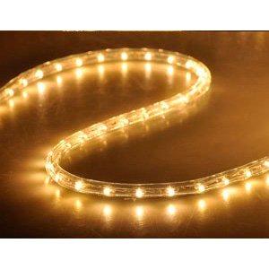 Christmas Xmas New Year Lighting LED Rope Light 150ft White I w/ Connector