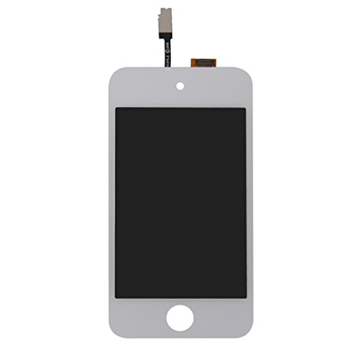 MagiDeal White LCD Screen Replacement Digitizer Glass Assembly