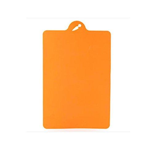 orange appliances kitchen - 6
