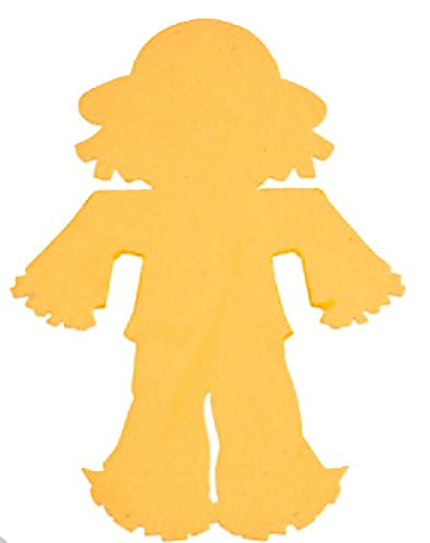 Jumbo Foam Scarecrow Shapes (4 Dozen)