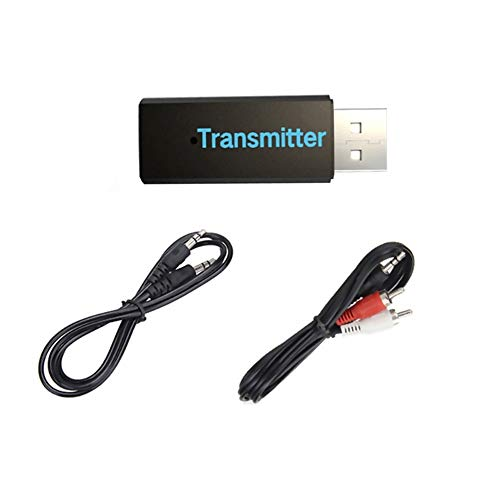 (DEESEE(TM) NewUSB Bluetooth 3.0 Wireless Stereo Audio Music Transmitter For TV MP3 PC)
