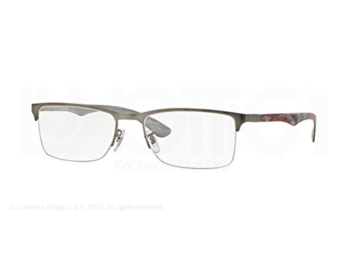 Ray Ban eyeglasses RX8413 2852 Carbon Fiber Anthracite - - Carbon Fiber Eyeglass Prescription Frames