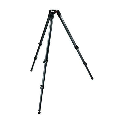 3 Stage Carbon Fiber (Manfrotto 535 Carbon Fiber 2-Stage Video Tripod with 75mm Bowl (Black))