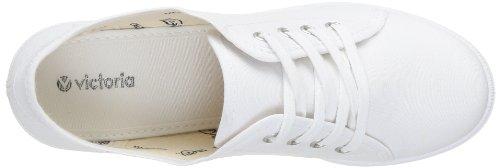 Zapatillas Con Plataforma Victoria Mujeres Con Tacón Blanco