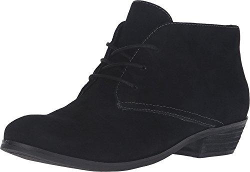 SoftWalk Women's Ramsey Black Cow Suede Leather (Black Cow Suede Footwear)