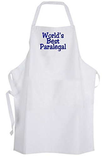 World's Best Paralegal - Adult Size Apron - Law Office Legal