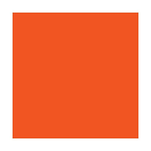 Craft E Vinyl - Glossy Orange 12 x 40 ft Roll of Permanent Adhesive Backed Vinyl for Cricut Cutters, CraftROBO Cutters, Pazzles Cutters, QuicKutz Cutters - CEV1616