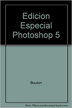 Book Edicion Especial Photoshop 5