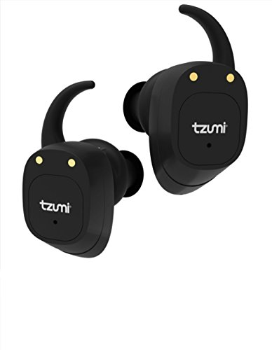 Tzumi ProBuds True Wireless Earbuds - Wireless Stereo Earbuds With Built-In Microphone and Charging Case  Bluetooth 4.2 Compatible with all iPhone and Android Devices