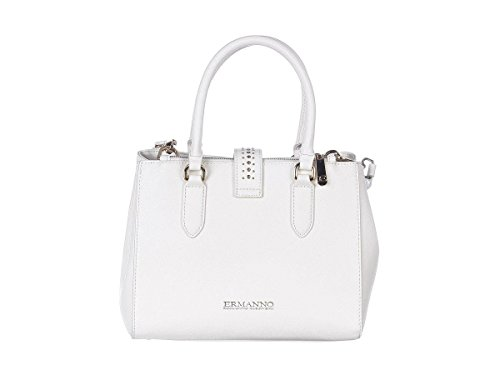 ERMANNO SCERVINO Borsa Shopping Cora Donna 12400402 ES154 Bianco Primavera Estate 2018