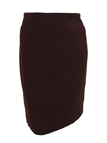 Alfani Plus Size Skirt 24W Fully Lined Pencil Style New Wine Red (Fully Lined Pencil)