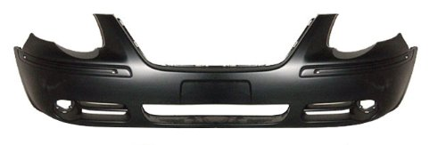 OE Replacement Chrysler Town & Country Front Bumper Cover (Partslink Number CH1000433)
