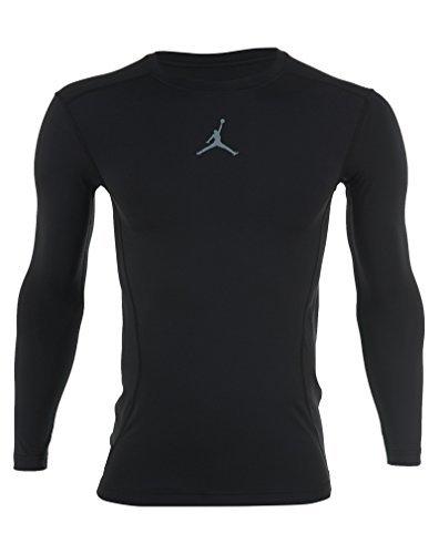 Jordan Aj All-season Compressie Shirt Heren Zweven / Zwart
